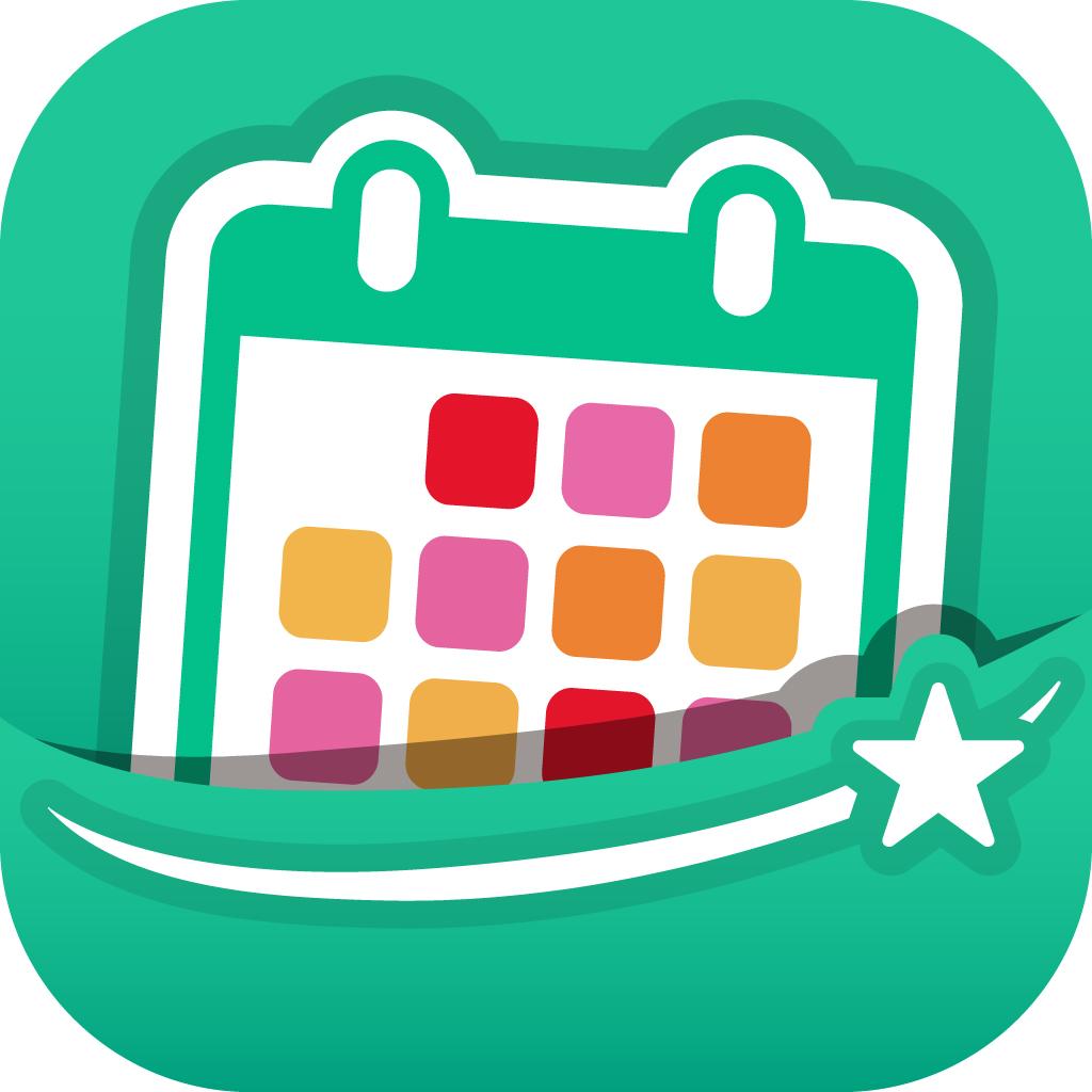 3秒で予定登録!Pocket Calendar - 誰でも使える簡単操作!平日祝日を装飾
